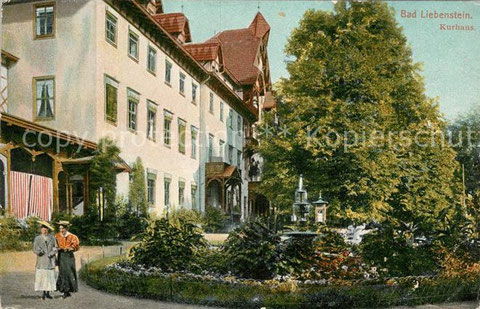 Kurhaus Verlag Louis Glaser Leipzig 1907