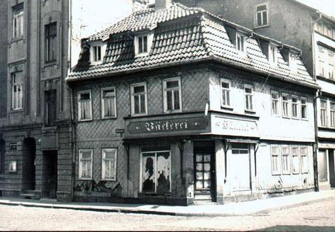 Bäckerei Leinweber in Eisenach Archiv E.Ziegler
