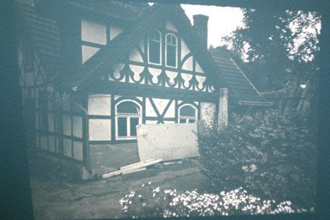 Hinter Haus Erika das erste für das Liebensteiner Pädagogium errichtete Gebäude