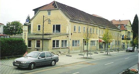 Abriß beginnt -  Archiv Werner Müller