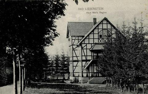 Haus Maria Regina vom Verlag Wilhelm Löser - 1920 gelaufen - Rechrche Volker Henning