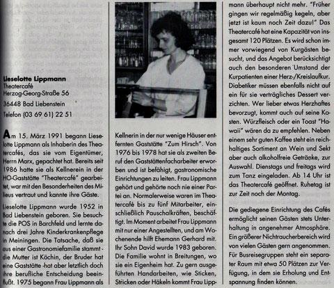 Aus Elke Langes Buch: Skizzen und Portraits aus dem Liebensteiner Oberland