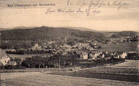 Der Garten neben der Unteren Reichshöhe war der sogenannte Christelgarten - Archiv W.Malek