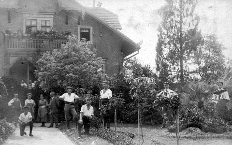 Gärtnerei im benachbarten Bad Salzungen - Sammlung Peter Michael Stein 1922
