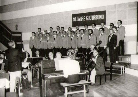 Festakt 40 Jahre Kulturbund 1989