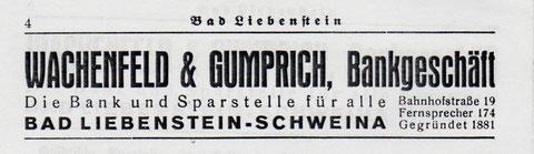 Aus dem Einwohnerbuch von 1938