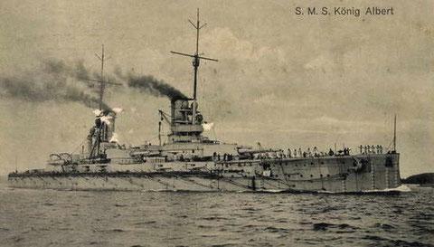 S. M. S. König Albert