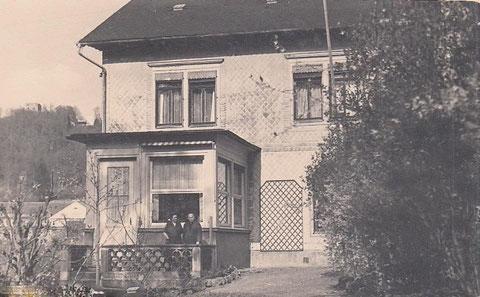 Villa Bourguet zu DDR-Zeiten, Ehepaar Optiker Müller ?