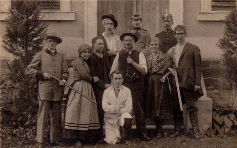 Das Mädchen von Liebenstein von Bodenstedt - vermutlich Aufführung im Theater Bad Liebenstein Archiv Gerd Eisenbrandt