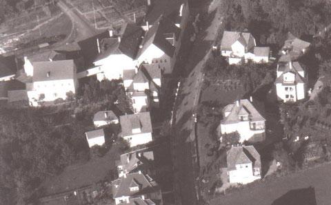 Mitte rechts sehen wir Haus Herta - Archiv W.Malek