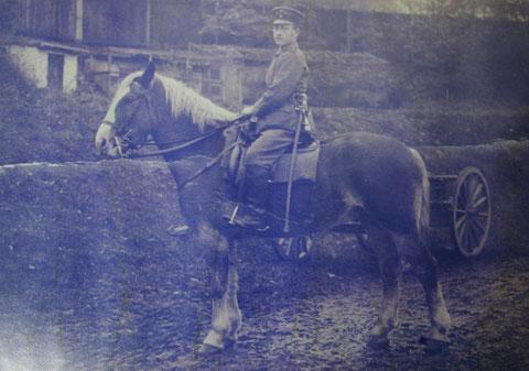 Vater Ernst von Kurt Schwarz 1.WK - Sammlung Kurt Schwarz