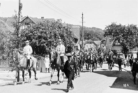 Festumzug 1913 in Bali