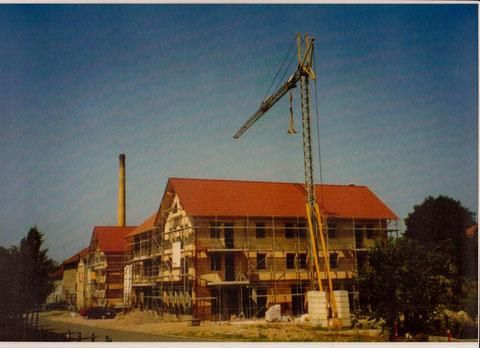 Bau des neuen Logierhofes 2001- Archiv Holger Munkel