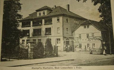 Kampf's Kurheim gepostet von Roland Daigorat am 07.10.2016