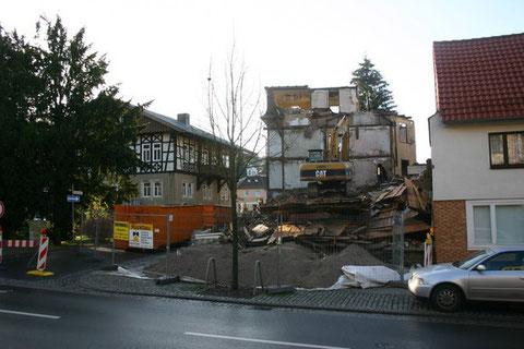 Abriß August 2009
