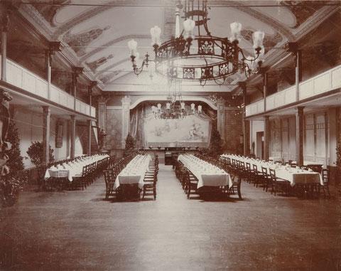 Saal um 1900 - Quelle Hans-Georg Sawatzki