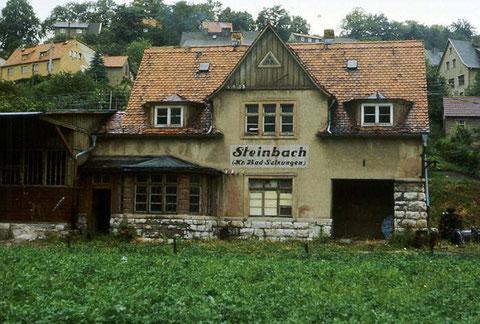 Bahnhof Steinbach 1970er - Recherche Jürgen Roth