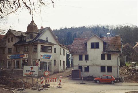 Aufnahme aus der Zeit, als der Hauptsammler in der Herzog-Georgstr. gebaut wurde - gepostet am 31.08.2018
