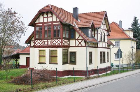Nach aufwendiger Restaurierung 2013 erstrahlt das Gebäude in neuem Glanz