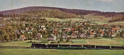 Lithografie nach Agfa color Foto - Archiv Foto Bodenstein