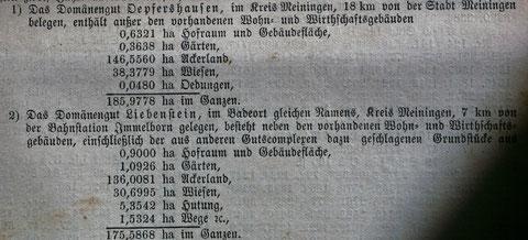 Regierungsblatt 1885 - Archiv W.Malek - Schenkung J.Beutel