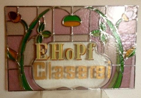 Bleiglas - im Besitz von Manfred Hopf, dem Neffen von Glasermeister Ernst