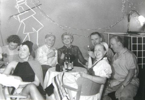 Fasching Theatercafe 1960er (Teichmann-Rümmler)