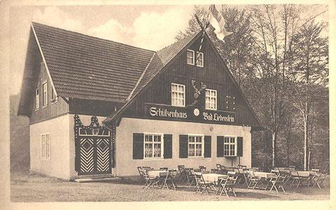 Von W.Marx in den 1960er betriebenes Ausflugslokal, das dann auch den Namen Hubertushof trug - Archiv W.Malek