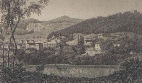 Hildburghausen, Bibliographisches Institut, um 1860