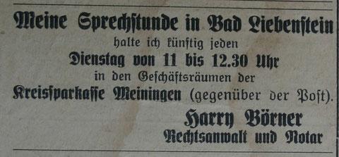 Stammgast Juni 1938 - Sammlung Kurt Schwarz