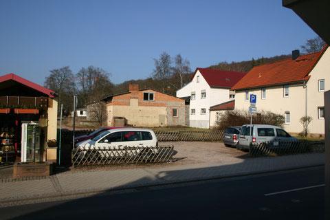 Herzog-Georg-Straße 23 als Baulücke -  Aufnahme März 2012
