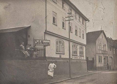 Cafe Neuse 1912 - Sammlung Vaiko Weyh