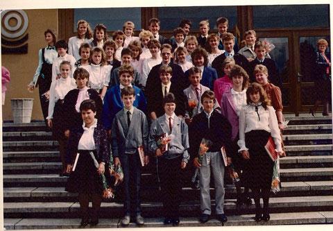 Jugendweihe 1989 - Sammlung Katja Leifer