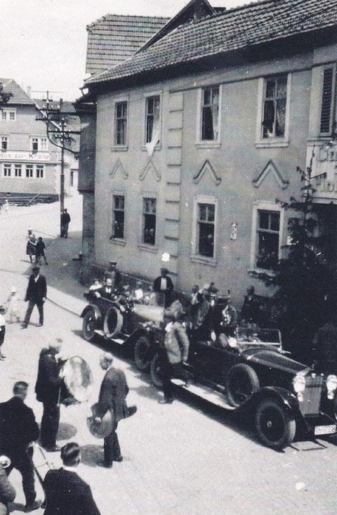 Schützenfest Juni 1929 Volksgarten Archiv Harald Schuck