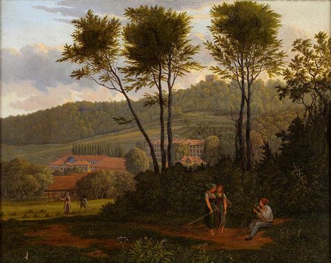 """"""" Sommerlandschaft """" von Carl Wagner im Auktionshaus Lambertz 2013 versteigert"""