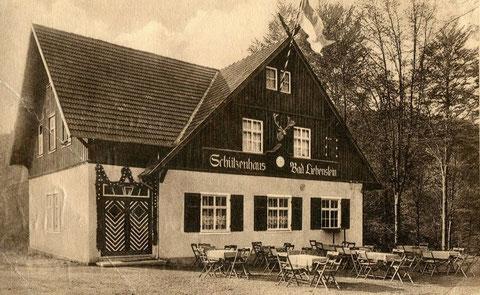 Schützenhaus um 1928