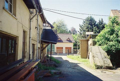 Anbauten am Badehaus - Von der Rückseite - im Hintergrund Villa Linser Von J.Bodenstein 31.08.2018 gepostet