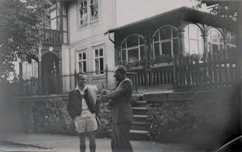 Cafe Kruspe 1949 - Quelle Familie Friedrich/Enkelin A.König