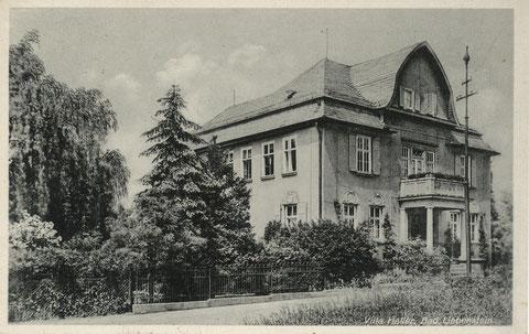 Ansichtskarte Anfang 1930er Jahre
