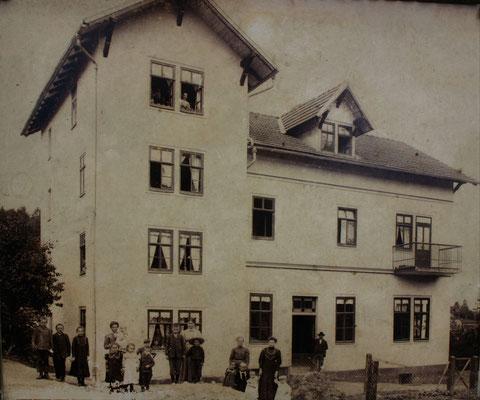 Mietskaserne um 1900 - Sammlung Familie Schönau
