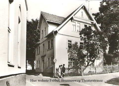 Archiv W.Müller - rechts der Ziegenstall