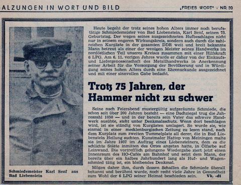 Freise Wort vom 04.Februar 1966 - Sammlung Kurt Schwarz