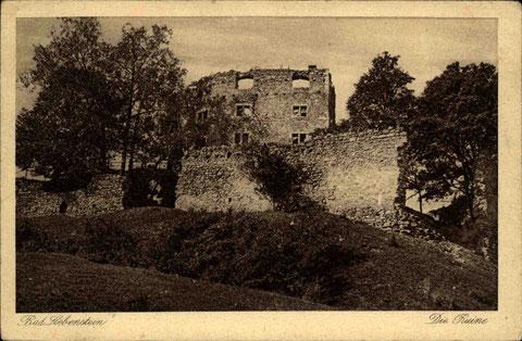Carl Jagemann Hofl. Eisenach 09.09.1922 gelaufen mit Schweinastempel