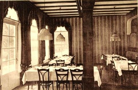 Innenräume Eichler-Seige 1932 - Archiv W.Malek
