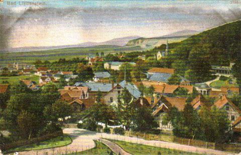 Blick vom Hotel Quisisana 1910 - Repro W.Malek