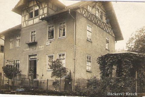 Bäckerei Krech - Archiv Luck