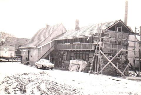 Aufnahme nach Abriß infolge Stadthallenbau 1980 -  Archiv Peter Fuhrmann