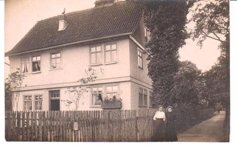 Haus Walch 1916, ehemals Jahnsgasse, heute Parkstraße 5 - Archiv W.Malek