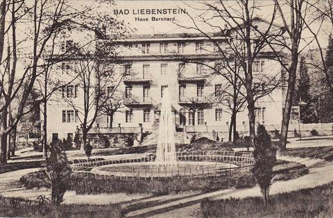 Seltenes Motiv mit Brunnen - im Besitz von Volker Henning