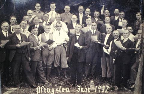 Pfingsten 1932